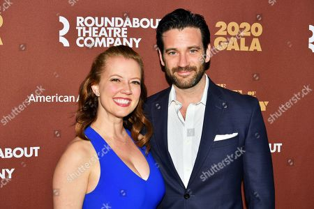 Stock Picture of Patti Murin and Colin Donnell