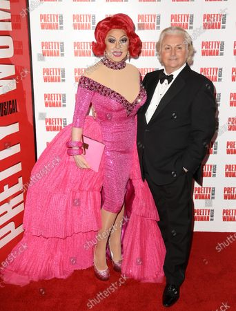 Editorial photo of 'Pretty Woman' musical, Arrivals, London, UK - 02 Mar 2020
