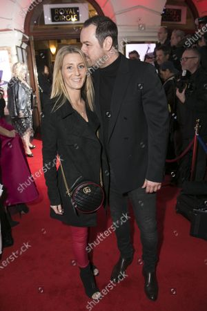Stock Photo of Joanne Mas and Danny Dyer