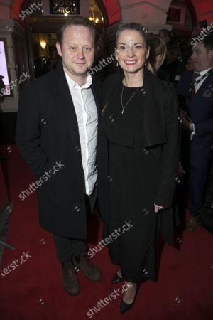 Michael Jibson and Caroline Sheen