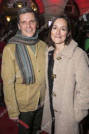 Nigel Harman and Lucy Liemann