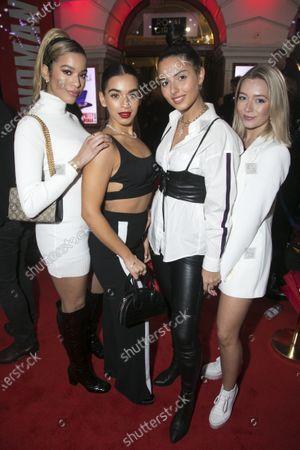 Stock Photo of Yasmin Broom, Caroline Alvares, Sophia Saffarian and Lauren Rammell