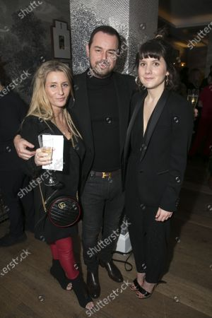 Stock Picture of Joanne Mas, Danny Dyer and Emily Vaughan-Barratt (Producer)