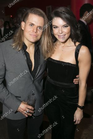 Stock Image of Giovanni Spano and Faye Brookes