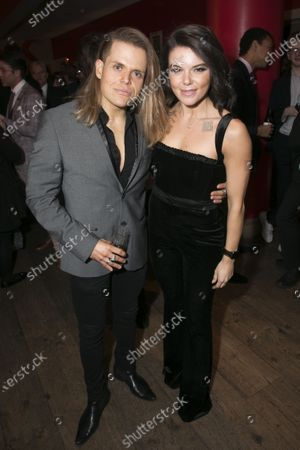 Stock Photo of Giovanni Spano and Faye Brookes