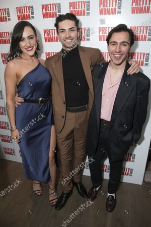 Stock Photo of Emma Cunningham, Damon Gould (Swing) and Connor Ashman