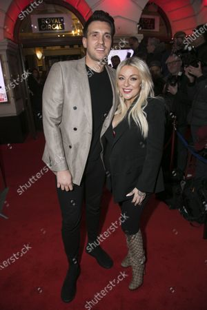 Jamie Horn and Sheridan Smith