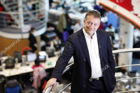 Editorial image of Peter Rippon, Editor of 'News Night' at BBC Television Centre in White City, London, Britain - 19 Nov 2009
