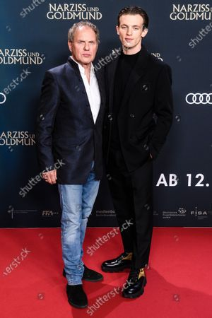 Editorial image of Narcissus and Goldmund photocall in Berlin, Germany - 02 Mar 2020