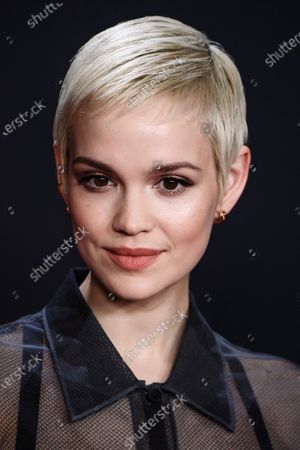 Emilia Schuele attends the premiere of 'Narziss und Goldmund' (Narcissus and Goldmund) in Berlin, Germany, 02 March 2020. The movie based on the book of German-Swiss writer Hermann Hesse will be released in German theatres on 12 March 2020.