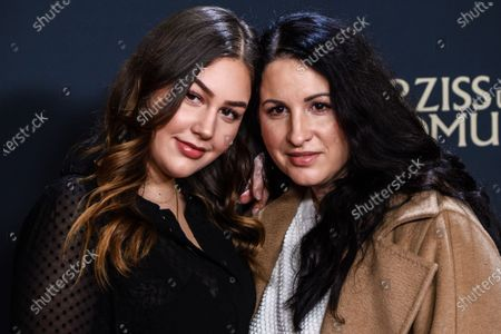 German-Iranian film producer Minu Barati-Fischer (R) and her daughter Shirin attend the premiere of 'Narziss und Goldmund' (Narcissus and Goldmund) in Berlin, Germany, 02 March 2020. The movie based on the book of German-Swiss writer Hermann Hesse will be released in German theatres on 12 March 2020.