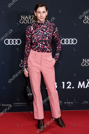 Christiane Paul attends the premiere of 'Narziss und Goldmund' (Narcissus and Goldmund) in Berlin, Germany, 02 March 2020. The movie based on the book of German-Swiss writer Hermann Hesse will be released in German theatres on 12 March 2020.