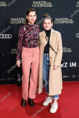 Stock Photo of Christiane Paul and her daughter Mascha attend the premiere of 'Narziss und Goldmund' (Narcissus and Goldmund) in Berlin, Germany, 02 March 2020. The movie based on the book of German-Swiss writer Hermann Hesse will be released in German theatres on 12 March 2020.