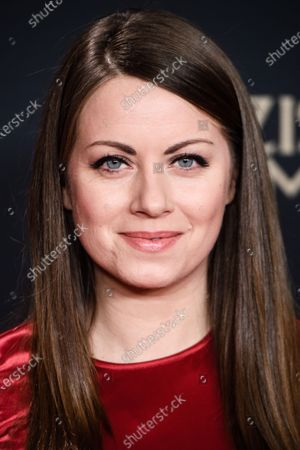Alice Dwyer attends the premiere of 'Narziss und Goldmund' (Narcissus and Goldmund) in Berlin, Germany, 02 March 2020. The movie based on the book of German-Swiss writer Hermann Hesse will be released in German theatres on 12 March 2020.