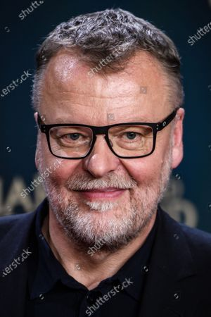 Stock Photo of Stefan Ruzowitzky attends the premiere of 'Narziss und Goldmund' (Narcissus and Goldmund) in Berlin, Germany, 02 March 2020. The movie based on the book of German-Swiss writer Hermann Hesse will be released in German theatres on 12 March 2020.