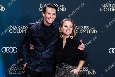 Editorial photo of Narcissus and Goldmund photocall in Berlin, Germany - 02 Mar 2020