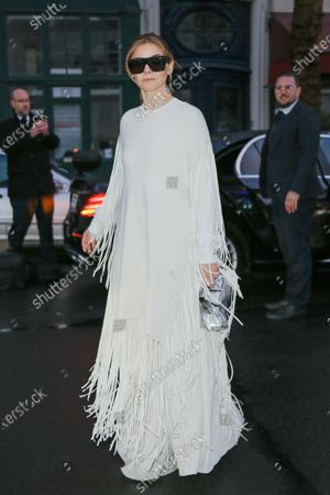 Editorial photo of Valentino show, Arrivals, Fall Winter 2020, Paris Fashion Week, France - 01 Mar 2020