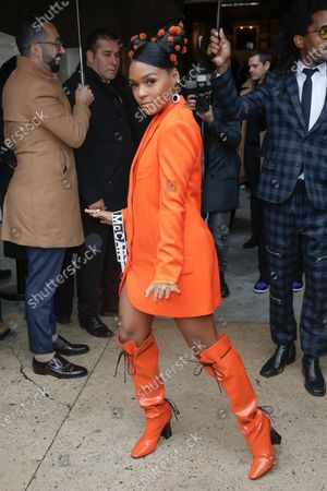 Editorial picture of Stella McCartney show, Arrivals, Fall Winter 2020, Paris Fashion Week, France - 02 Mar 2020