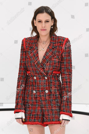 Editorial photo of Chanel show, Front Row, Fall Winter 2020, Paris Fashion Week, France - 03 Mar 2020