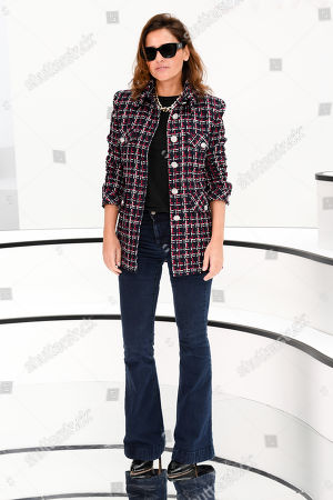 Stock Picture of Virginie Ledoyen in the front row