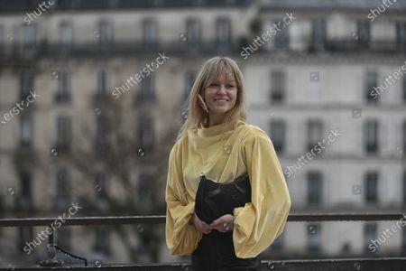 Editorial photo of Street Style, Fall Winter 2020, Paris Fashion Week, France - 02 Mar 2020