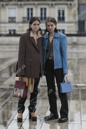 Stock Photo of Molly Blutstein and Reese Blutstein