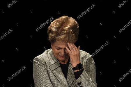 Former Brazilian president Dilma Rousseff attends during a campaign rally of Paris Mayor Anne Hidalgo in Paris, France, 02 March 2020. The first round of the mayoral elections will be held 15 March and the final round 22 March 2020.