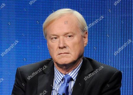 """Rachel Maddow, Lawrence O'Donnell, Chris Matthews. MSNBC host Chris Matthews takes part in a panel discussion at the NBC Universal summer press tour in Beverly Hills, Calif. Matthews announced his retirement on his political talk show """"Hardball with Chris Matthews"""" on"""