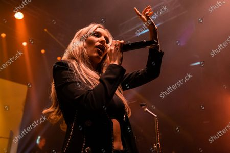 Editorial photo of Lennon Stella in concert at O2 Shepherd's Bush Empire, London, UK - 02 Mar 2020
