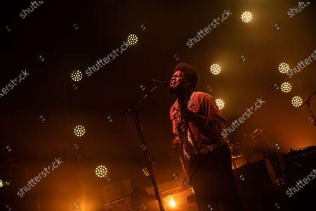 Editorial photo of Michael Kiwanuka in concert at O2 Guildhall, Southampton, UK - 02 Mar 2020