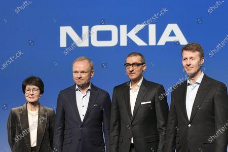 Editorial picture of Nokia press conference, Espoo, Finland - 02 Mar 2020