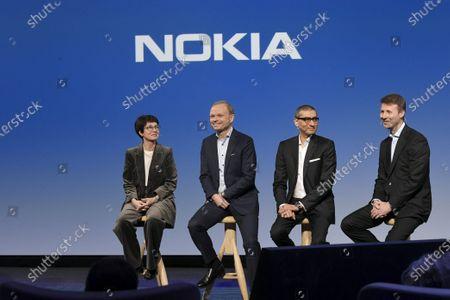 Editorial photo of Nokia press conference, Espoo, Finland - 02 Mar 2020