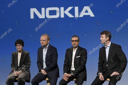 Editorial image of Nokia press conference, Espoo, Finland - 02 Mar 2020