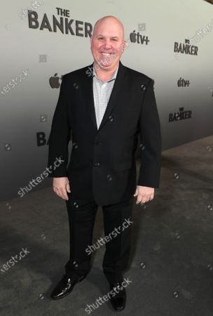 """Stock Picture of James Dumont attends Apple's """"The Banker"""" premiere at The National Civil Rights Museum. """"The Banker"""" opens in select theaters on March 6, before premiering globally on Apple TV+ on March 20."""