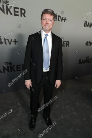 """George Nolfi, Writer/Director/Producer, attends Apple's """"The Banker"""" premiere at The National Civil Rights Museum. """"The Banker"""" opens in select theaters on March 6, before premiering globally on Apple TV+ on March 20."""