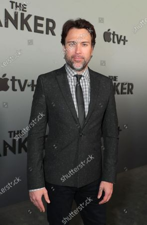 "Jonathan Baker, Producer, attends Apple's ""The Banker"" premiere at The National Civil Rights Museum. ""The Banker"" opens in select theaters on March 6, before premiering globally on Apple TV+ on March 20."