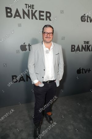 """Stock Image of H. Scott Salinas, Composer, attends Apple's """"The Banker"""" premiere at The National Civil Rights Museum. """"The Banker"""" opens in select theaters on March 6, before premiering globally on Apple TV+ on March 20."""