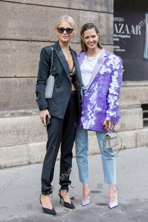 Caroline Daur and Helena Bordon