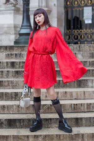 Stock Image of Mademoiselle Yulia