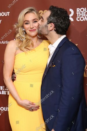 Betsy Wolfe and Adam Krauthamer