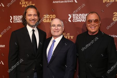 Stock Image of Lance Le Pere, Todd Haimes, and Michael Kors