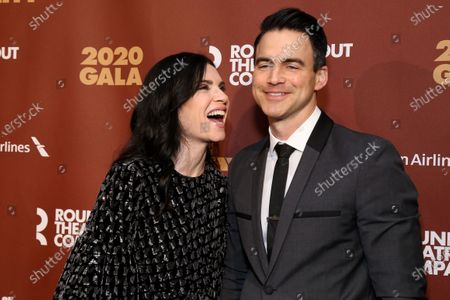 Stock Picture of Julianna Margulies and Keith Lieberthal