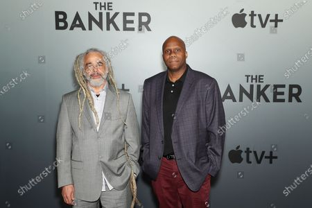 Stock Image of David Lewis Smith (producer, Writer, Screenwriter), Stan Younger (Writer)
