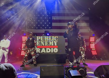 Editorial photo of Public Enemy Sanders, Los Angeles, USA - 01 Mar 2020