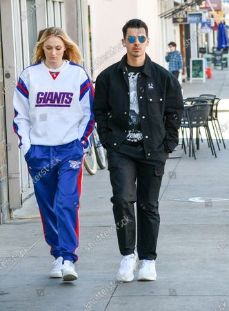Editorial photo of Sophie Turner and Joe Jonas out and about, Los Angeles, USA - 02 Mar 2020