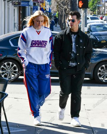 Editorial picture of Sophie Turner and Joe Jonas out and about, Los Angeles, USA - 02 Mar 2020