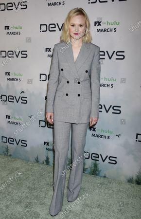 Editorial photo of 'Devs' TV show premiere, Los Angeles, USA - 02 Mar 2020