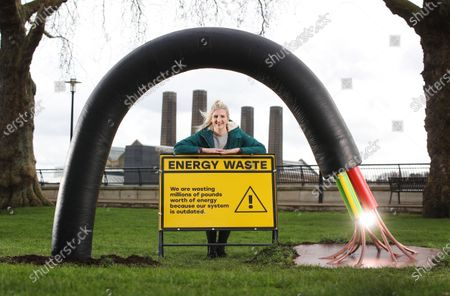 A new campaign fronted by double Olympic champion Rebecca Adlington launches today, highlighting the £650m of 'invisible' waste that we as a nation could save by upgrading our outdated energy system.