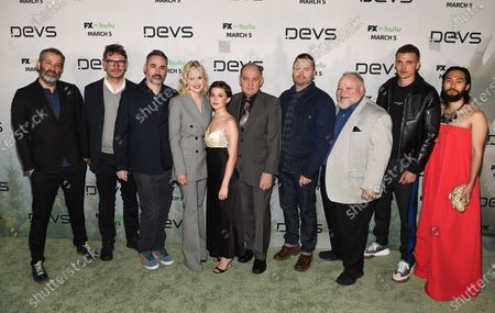 Editorial photo of 'Devs' TV show premiere, Arrivals, Los Angeles, USA - 02 Mar 2020