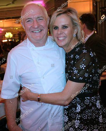 Rick Stein and Sarah Burns